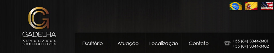Menu do Site